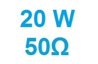 20W 50ohm N ATT