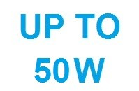 Up to 50W