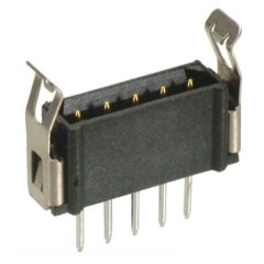M80-877 - Male Vertical PC-Tail Single Row - Latched