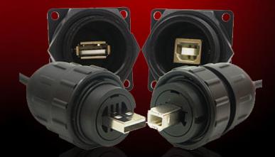 USB Type A & B