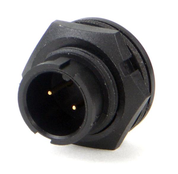 Mini Con-X Panel Mount Connectors Male