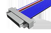 A28000-031 -Omnetics Nano-D 31 Contact Male MNPO-31-WD-18.0-N-EJS-C