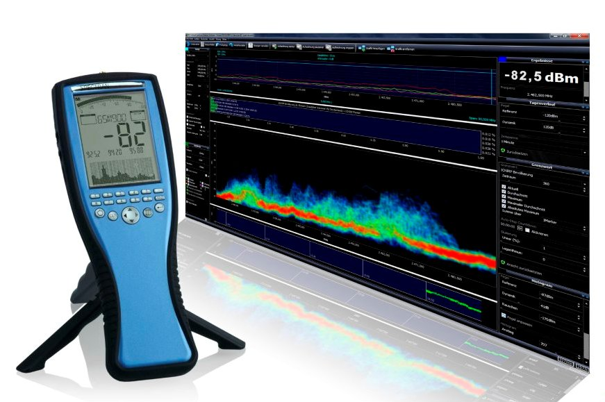 Aaronia Spectran NF-5030 - SPECTRUM ANALYZER 1 Hz to 1 MHz