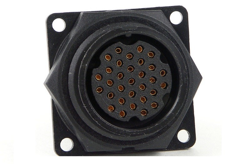 24281-31PG-300 - 31 Pin Male Panel Mount