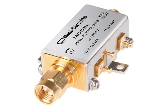 ZX47-50-S+ - Power Detector -45 dBm to +15 dBm, 10 to 8000 MHz