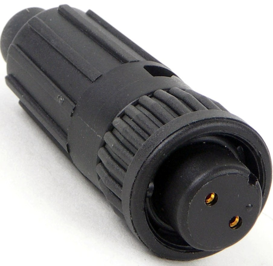 6382-2SG-516 -Conxall Mini-Con-X 2 Socket Female Cable End Connector
