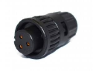 6380-3SG-318 -Conxall Mini-Con-X 3 Socket Female Cable End Connector