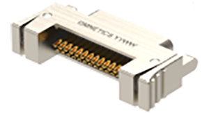 A98027-009 - Omnetics - Micro-D SIL 9-Way Latching Male Connector - LMDP-009-N50-SS-RH