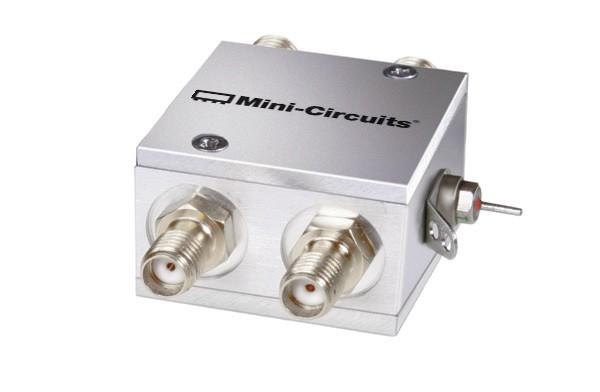 ZFSWA2-63DRB+ -Mini Circuits SPDT RF Switch Absorptive 0.5-6 GHz w/ Bracket