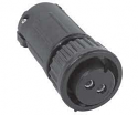 3280-9SG-321 - 9 Socket Female Cable End Connector