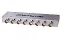 ZBSC-8-82+ - 8-WAY 10-800 MHz BNC