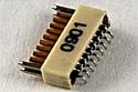 A79011-001  18 Position Dual Row Female Nano-Miniature Connector - NSD-18-VV-GS
