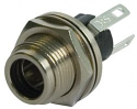 L712AS-Switchcraft Sealed  DC Power Jack-Switchcraft 2.5mm pin, Solder Lugs