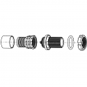 GSCWAM-P04WBC0-0000 ODU AMC High-Density Screw Lock 4 Way Size 00