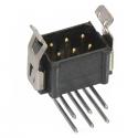 M80-8660622 -Harwin Datamate L-Tek 3+3 Way  Male DIL Horizontal PCB Connector