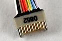 A79013-001  18 Position Dual Row Female Nano-Miniature Connector