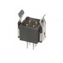 M80-8670422 -Harwin Datamate L-Tek 2+2 Way  Male DIL Vertical PCB Connector