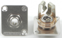 "E12B - 1/4"" / 3 Conductor Stereo, Nickel Finish"