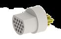 A22032-001 -Omnetics Micro Circular 16 Pin Male w/Soldercups - MCP-16-SS