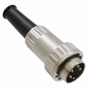 09CL4MX - Locking DIN Cable Mount Connector