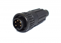 6282-5PG-522 - 5 Pin Male Cable End Connector
