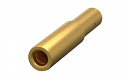 171.610.700.207.000 -ODU Gold Plated Single Contact Socket 3.0mm diameter Crimp Termination