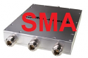 ZB3PD-63+ - 3-Way Splitter 150-6000 MHz SMA DC PASS