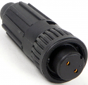 6280-2SG-513 -Conxall Mini-Con-X 2 Socket Female Cable End Connector