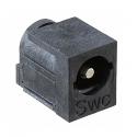 RAPC712BK - Switchcraft DC Power Jack 2.5mm Pin