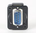 EHDB9MMB- Switchcraft EH CONN, 9 PIN D SUB
