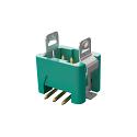 G125-MS10605L3P  1.25MM Male VERT SMT 2X03 POS