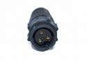 EN3L3F16X - 3 PIN Female, #16 IN-LINE Connector