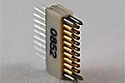 A79007-001  18 Position Dual Row Female Nano-Miniature Connector