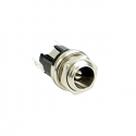 721A - Switchcraft DC Power Jack Straight 2.5mm pin - Solder Lug