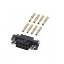 M80-4610805 - Harwin Datamate J-Tek 8 way DIL Female Crimp Small Bore