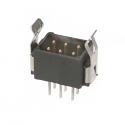M80-8670622 -Harwin Datamate L-Tek 3+3 Way Male DIL Vertical PCB Connector
