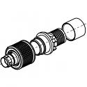 C1CWAM-P02XCE0-0000 ODU AMC High-Density Screw Lock 2 Way Size 00