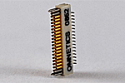 A79035-001  36 Position Dual Row Female Nano-Miniature Connector - NSD-36-VV-GS
