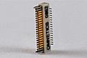 A79035-001  36 Position Dual Row Female Nano-Miniature Connector - NSD-36-VV-GS
