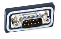 DCPHD15MSC1 - D-Sub Panel Mount Connector