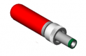 S766KH -Switchcraft 2.0mm Locking Centre Pin -Switchcraft High Temperature Plug