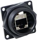 DCP-RJ6SB-F - RJ45 Cat 6 Shielded Feed-Thru to same connector
