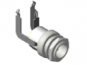 L712RAH - 2.5mm - High Temperature Right Angle Jack