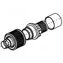 C1CWAM-P04XBC0-0000 ODU AMC High-Density Screw Lock 4 Way Size 00