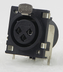 PQG3FRA112-Switchcraft XLR Panel Mount Connector