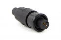 16282-3PG-318 - 3 Pin Male Cable End Connector