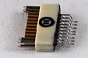 A79017-001  18 Position Dual Row Female Nano-Miniature Connector