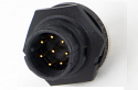 EN3P10M26X - 10 PIN MALE PANEL MOUNT CONNECTOR (image is representative only)