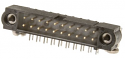 M80-5401242 - 12 way DIL Male Horizontal PC tail with Board Mount