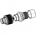 C10WAM-P09XMM0-0000 ODU AMC High-Density Screw Lock 9 Way Size 0